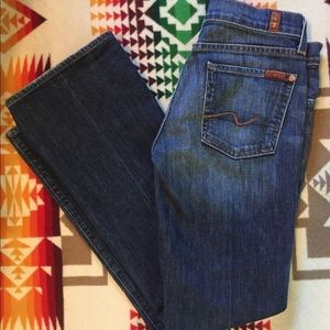 7FAMK seven for all mankind Bootcut jeans 28x31